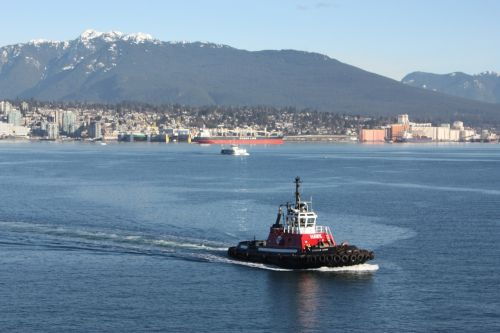tugboat blue harbor