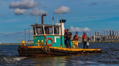 tugboat  harbor  boat