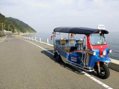 tuk tuktuk thailand