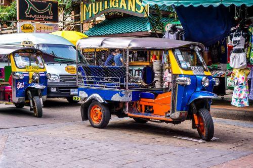 tuktuk thailand motorcycle