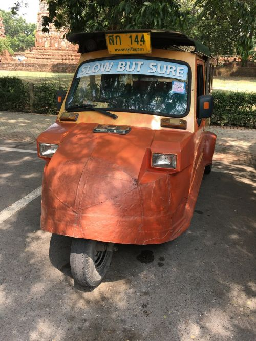 tuktuk thailand ayuttaya