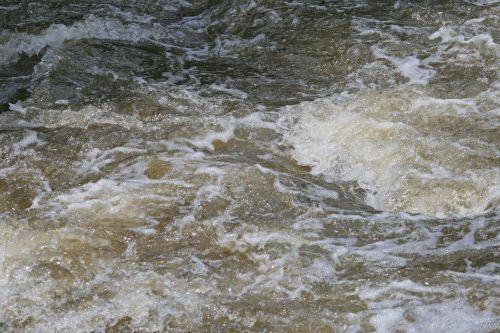 Tumultuous Water