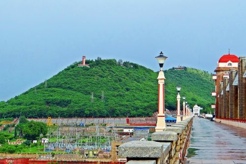 tungabhadra dam hospet way to the dam