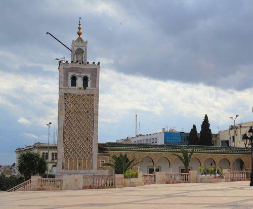 tunis tunisia minaret