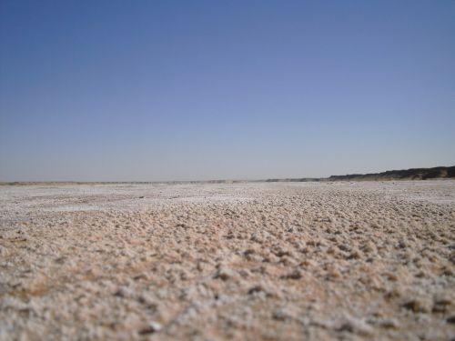 tunisia salt flats desert