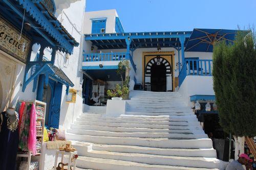 tunisia city café