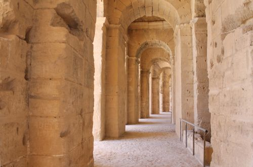 tunisia el jem amphitheater