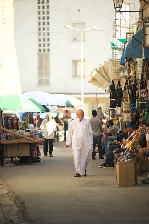 tunisia  market  man