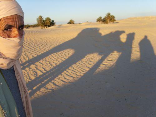 tunisia desert sunset