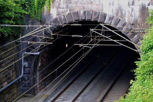 tunnel train gleise