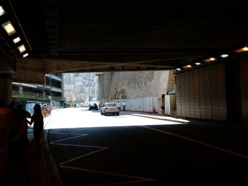 tunnel monaco race track