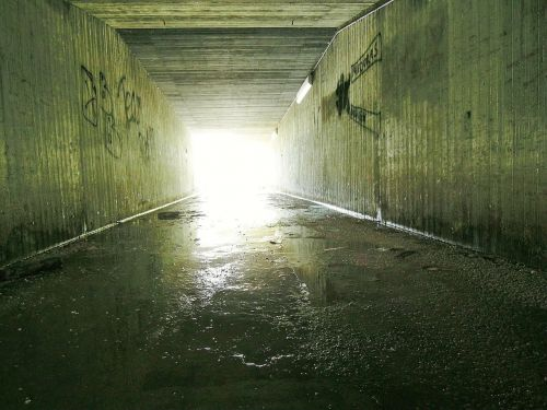 tunnel concrete underpass