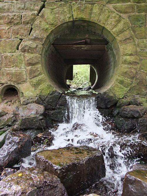 tunnel stream brook