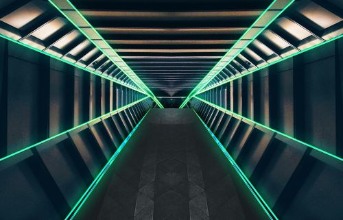 tunnel corridor space