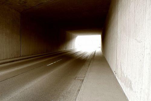 tunnel,road,bridge,light,away,asphalt,monochrome