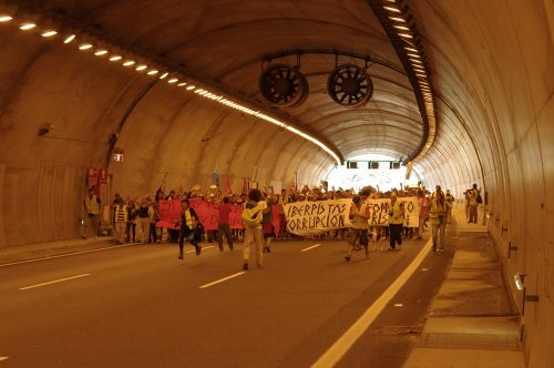 tunnel march street