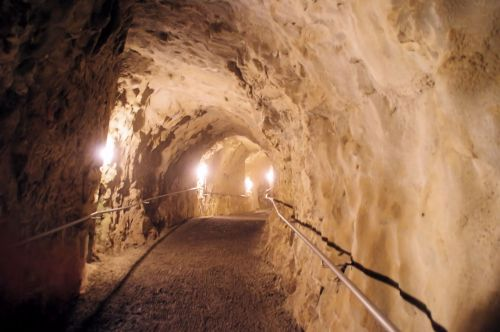 Tunnel At Rosh Hanikra, Israel