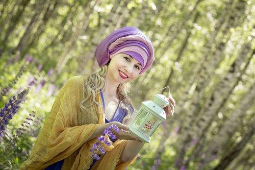 turban  oriental style  nature