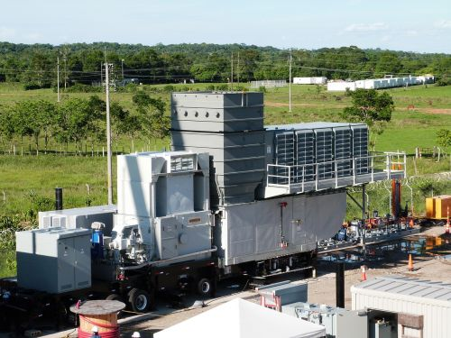 turbine gas portable