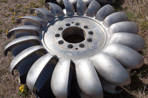 turbine metal steel