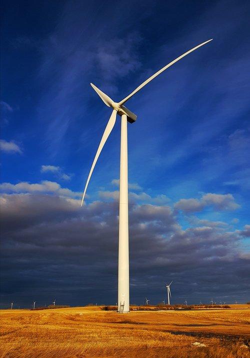 turbine  electricity  windmill