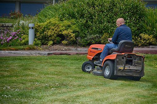 turf grass mower