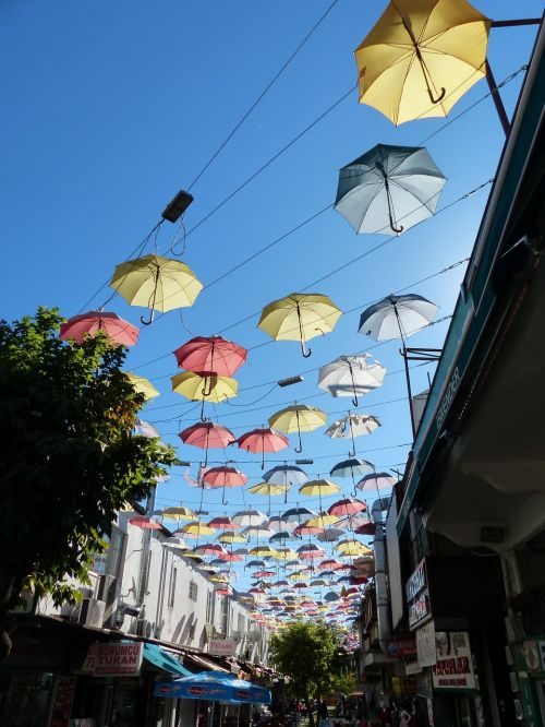 turkey antalya parasols