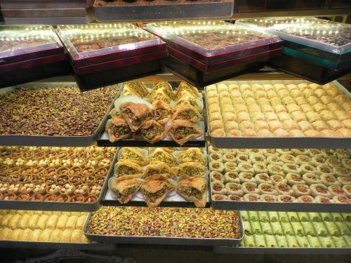 turkey grand bazaar turkish sweets