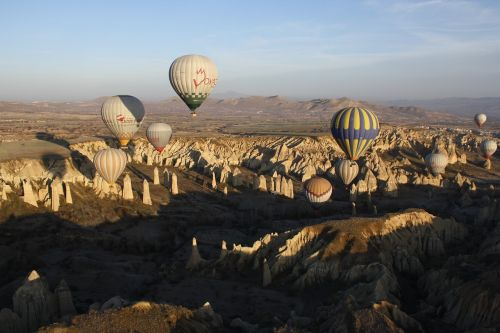 hot-air ballooning turkey cappadocia
