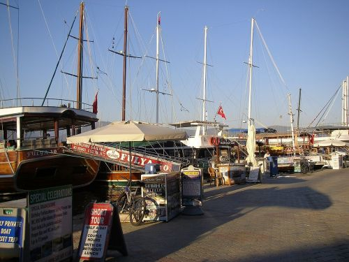 turkey,harbour,boats