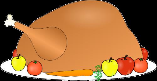 turkey food dinner