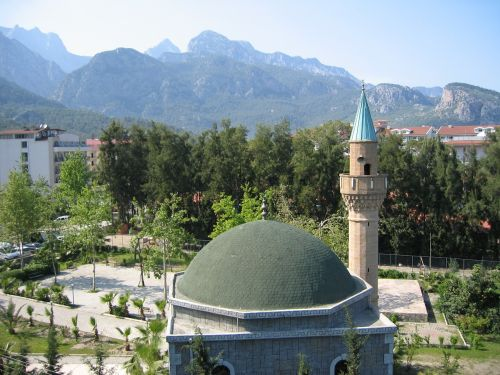turkey antalya mosque