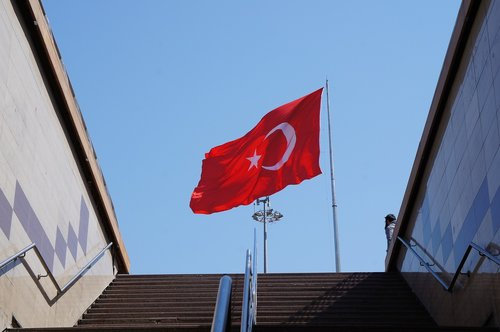turkey  taksim  flag
