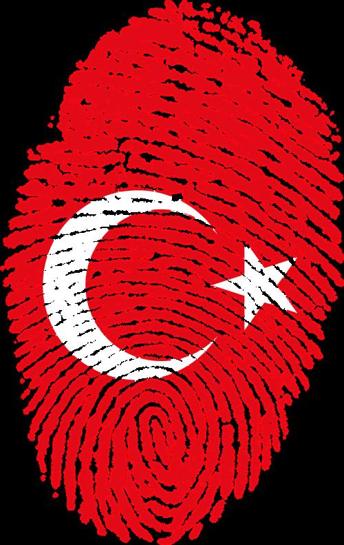 turkey flag fingerprint