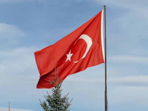 turkey turkish flag flag