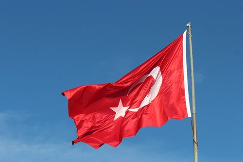 turkish  flag  turkish flag