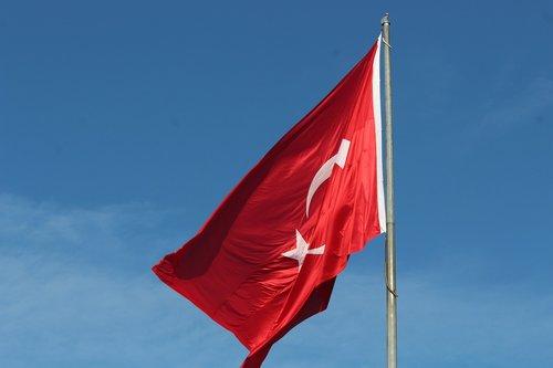 turkish  turkey  flag