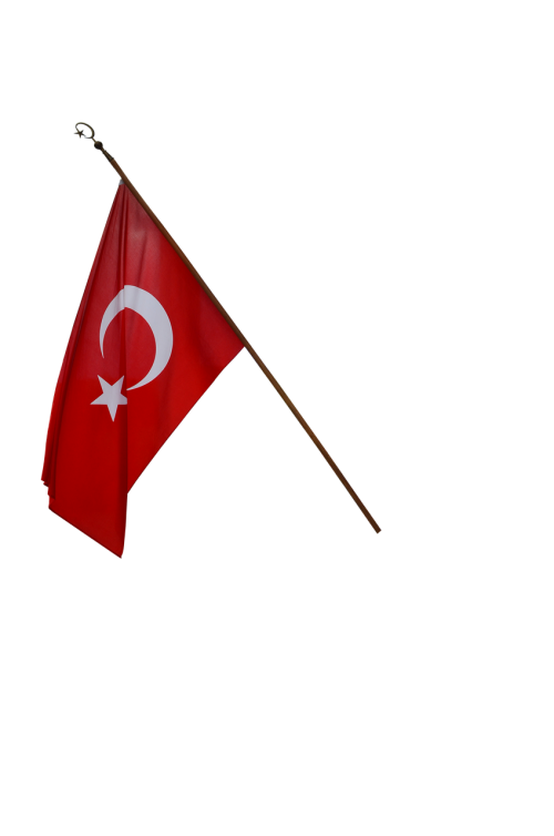 turkish flag turkey english