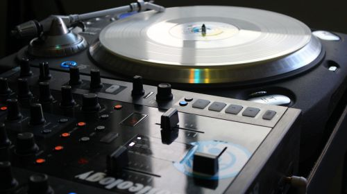 turntable dj mix