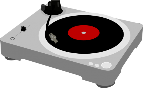 turntable record player music