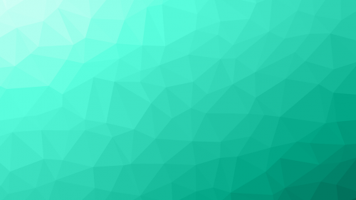 turquoise background polygon