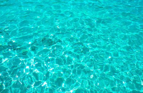 turquoise desktop wet