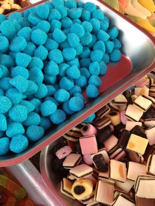 turquoise candy licorice