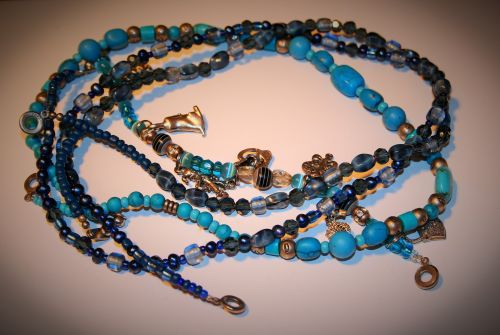 Turquoise Beads And Charms