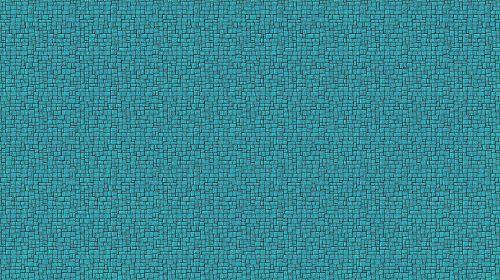 Turquoise Bold Mosaic Wallpaper