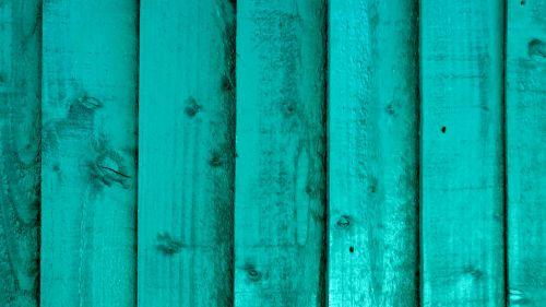 Turquoise Fence Background