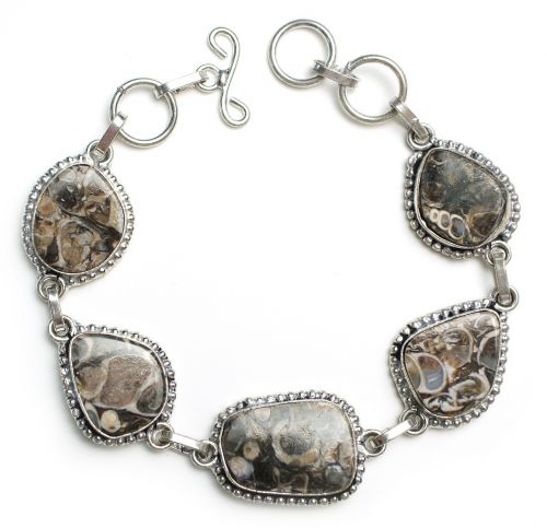 turritella bracelet stone