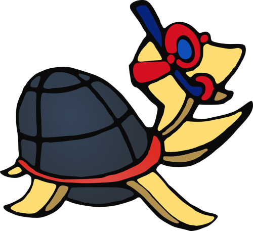 turtle animal anthropomorphized