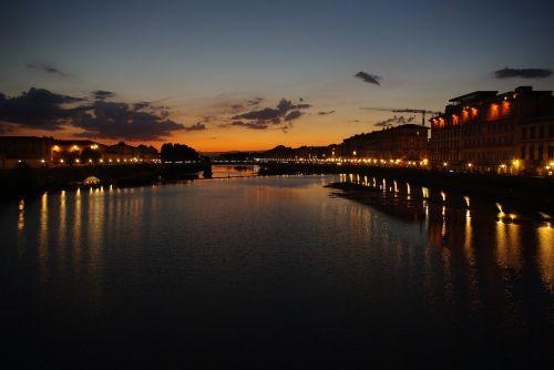 tuscany florence river arno