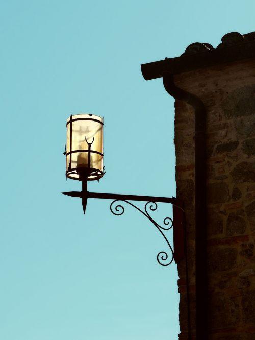 tuscany lamp mediterranean